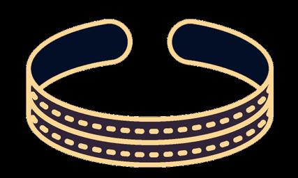 Les bracelets et chaînes en argent, en or Krossin, vente de bijoux